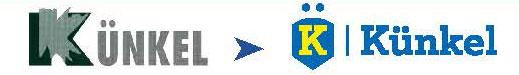 Évolution du logo Kunkel