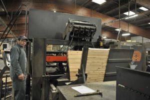 Pallet production line